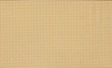 Fat Quarter Gingham Taupe Cream 100 Cotton Quilting Fabric Makower