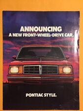 Vintage 1979 Pontiac Phoenix Sales Brochure US Excellent Collectable
