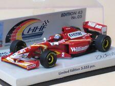 Minichamps 1:43 F1 Formel 1 Williams Mecachrome 1998 Launch Version H. Frentzen