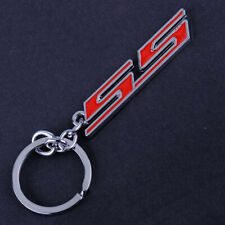 For Chevrolet Chevy All Car Chrome Metal Super Sport SS Key Chain Ring Keychain