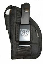 Nylon side holster for Taurus Millenium G2S with laser light attachment