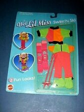 Mattel ~Wee Lil Miss~ Doll Clothes Swim 'n Ski #8403 - New in unopened Package!