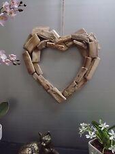 Large Driftwood Heart  36 x 35 cm