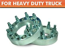 2 Wheel Aapters 8 Lug Chevy GMC Hummer Silverado Spacers