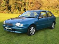 Toyota Corolla Gs 1.6 3Dr Hatchback ** NO RESERVE AUCTION **