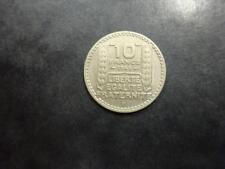 Turin grosse tête, 10 francs 1946 B - Beaumont-le-Roger - Rameaux longs
