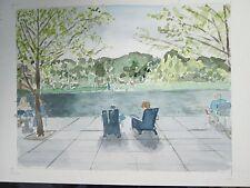 """Clark Museum, Williamstown, MA / 9 1/4"""" x 12 1/4"""" / Mimi Davis, Artist"""
