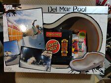 TECH DECK DEL MAR POOL SKATE PARK & DOG TOWN RED DOG SANTA CRUZ JASON JESSEE