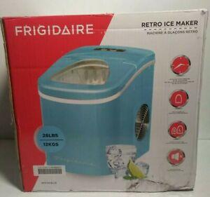 New Frigidaire Retro Ice Maker Blue