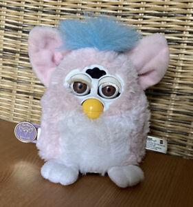 Furby Baby 1. Generation 1999 2000, Baby Pink, teils defekt