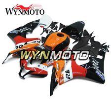 Repsol Black Orange Red Fairings for Honda CBR600RR 2007 2008 F5 07 08 Body Kits