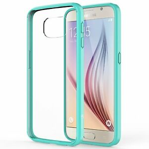 Samsung Galaxy S6 Case, Ultra Slim Hybrid TPU Scratch Resistant Case