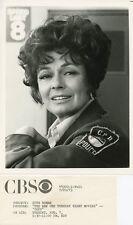 RUTH ROMAN SMILING PORTRAIT COPS ORIGINAL 1973 CBS TV PHOTO