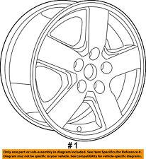 Dodge CHRYSLER OEM 10-11 Nitro-Wheel-Alloy Aluminum 1BK47SZ0AE