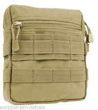Condor G.P. Tactical Tool Pouch - Tan - Molle pack, gear, mag clip - #MA67