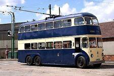 Rotherham Corporation Transport Trolleybus 37 Sandtoft 2006 Bus Photo