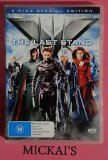X-MEN THE LAST STAND DVD 2-DISC SPECIAL EDITION 2006 For Collectors WOLVERINE