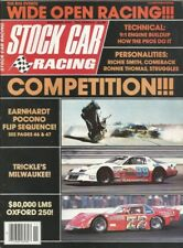 STOCK CAR RACING 1982 NOV - Waltrip, Earnhardt Flip, Trickle's Milwaukee, Smith