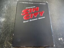 "Sin City ""Deluxe Two-Disc Dvd Set"" Includes Comic Book - Recut/Extended/Unrated"