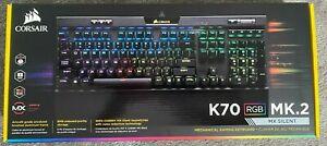 Mechanical Gaming Keyboard   CORSAIR K70 RGB MK.2   MX Silent   New!