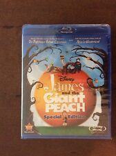 James and the Giant Peach(Blu-ray/DVD,2010 2-Disc Set,Special Edition).Slipcover