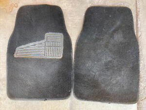 Mitsubishi Starion Chrysler Conquest Front floor mat driver passenger Carpet