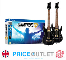 Guitar Hero Live Ps4 - 2 x Guitar Controllers, Straps & Dongles  BRAND NEW (Z)