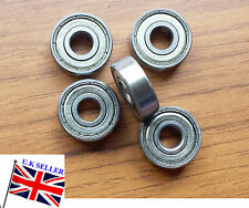 608-ZZ 8X22X7MM Plateado Sellado Surco Profundo Cojinete de bolas 5pc radial metalspare parte