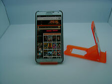 LOT OF 25 NEW STAND HOLDER CELL PHONE DISPLAY 1 in 1 BP07 ORANGE