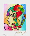 Profile Series II, Limited Edition Lithograph, Peter Max - SIGNED with COA