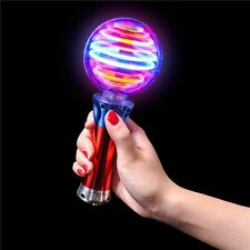 Spectra Spinner Light Up Spinning Wand Rave Stick Flashing Wizard Ball Autism