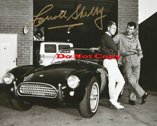 AUTOMOBILE LEGEND CARROLL SHELBY 8x10  Autographed photo Reprint