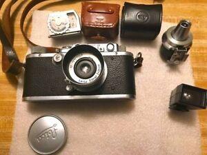 1933 Leica III DRP Ernst Leitz Wetzlar no 131649