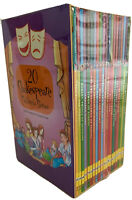 20 Shakespeare Children's Stories Books The  Complete Collection Box Set NEW