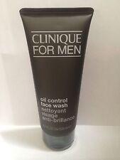 New Clinique For Men Oil Control Face Wash Full Size 6.7FL.OZ./200ML