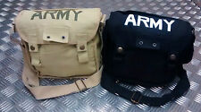Estilo Militar ARMY Lona / Bolso mensajero Bandolera Festival Asst Colores