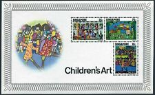 Singapore 287a sheet,MNH/hinged.Michel Bl.9. Children's drawings,l977.