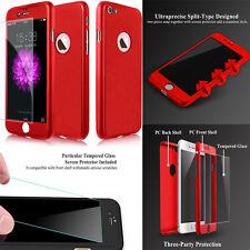 Etui Coque + Verre Trempe Protection Integrale 360 Degré Pour iPhone Samsung