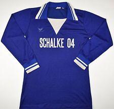 1978-1979 SCHALKE 04 ERIMA HOME FOOTBALL SHIRT (SIZE S)