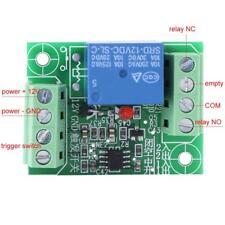 DC12V 10A 1 Mono Canale Relay Remote Trigger Controllo Switch Receiver Bistabile