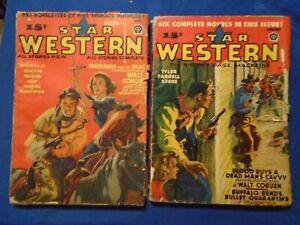 Star Western 3 Issue Lot 1939-43
