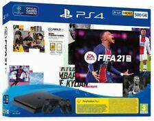 Sony PlayStation 4 Slim 500GB Pack di Console e FIFA 21 – Nera