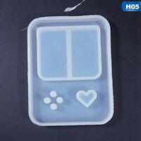 Square Game Console Silicone Resin Mold For Diy Jewelry Pendant Mould Handmade -