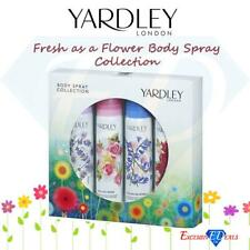 Yardley London Body Spray Collection Gift Set 4 X 75ml English Lavender