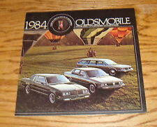 Original 1984 Oldsmobile Cutlass Ciera Cruiser Supreme Deluxe Sales Brochure 84