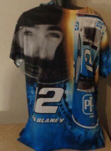 NASCAR Ryan Blaney #12 Adult Men's Large T-Shirt/Shirt  Brand New
