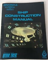 Star Trek 2 The Wrath of Khan Ship Construction Manual The Roleplaying Game