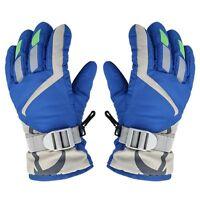 Winter Thermal Warm Gloves Mitts Snow Sports Ski Snowmobile Snowboard W/Strap