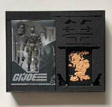 G.I. Joe Classified Series Snake Eyes Deluxe Figure Hasbro Pulse Exclusive