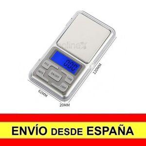 Balanza Peso Báscula Digital Precisión 0,1gr-500gr  a1237